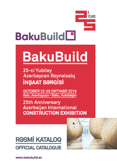 BAKUBUILD 2019 Official Catalogue