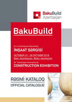 BAKUBUILD 2018 Official Catalogue